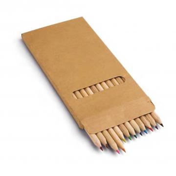 12'li Uzun Kuru Boya Kalemi