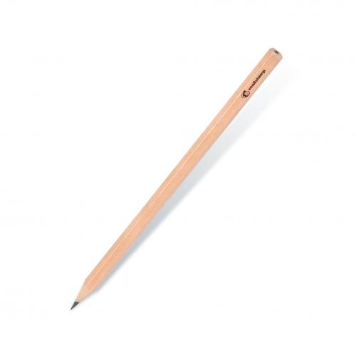 Naturel Köşeli Kurşun Kalem