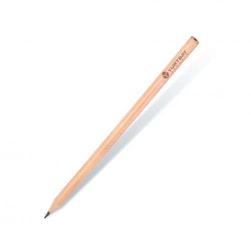 Naturel Yuvarlak Kurşun Kalem
