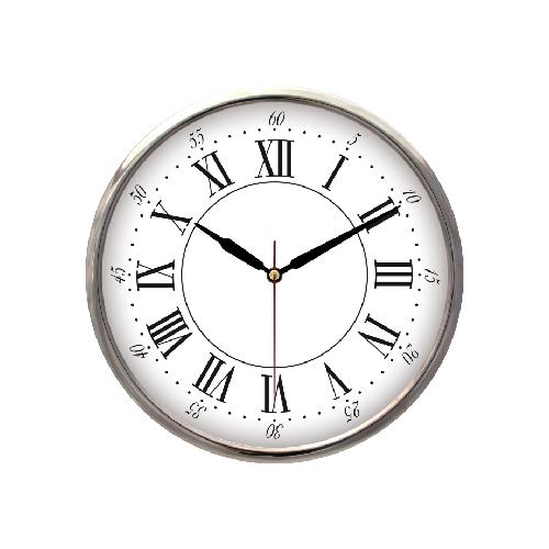 Metal Çerçeveli Duvar Saati