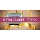 Metal Plaket - Tabak - Tepsi