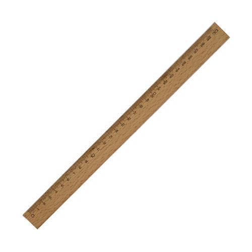 30 cm Vernikli Dar Cetvel