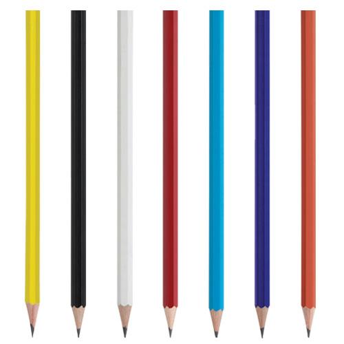 Köşeli Boyalı Kurşun Kalem