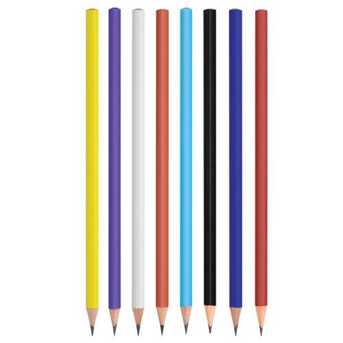 Yuvarlak Boyalı Kurşun Kalem