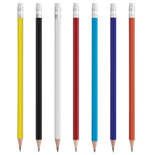 Boyalı Köşeli Kurşun Kalem