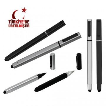 Touch Pen Kapaklı Tükenmez Kalem