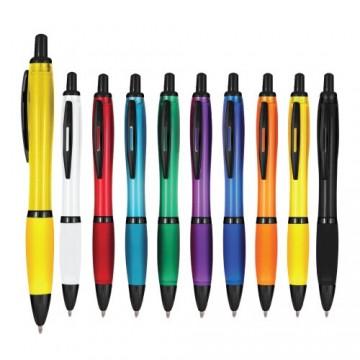 Siyah Klipsli Yarı Metal Tükenmez Kalem