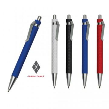 Yarı Metal Desenli Tükenmez Kalem