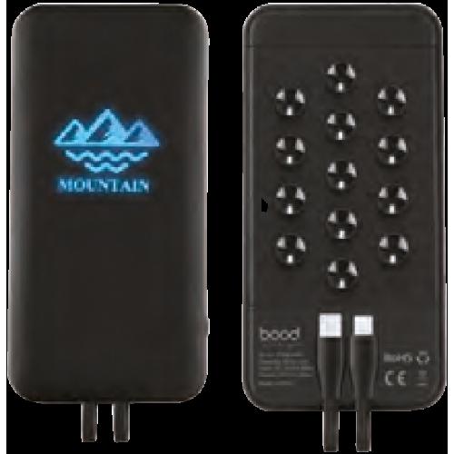 Wireless+Vantuz+Işıklı Powerbank