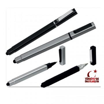 Touch Pen Kapaklı Jel Kalem