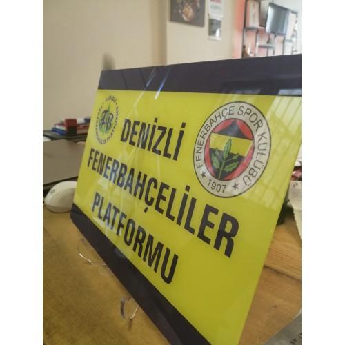 Fenerbahçe UV Baskı