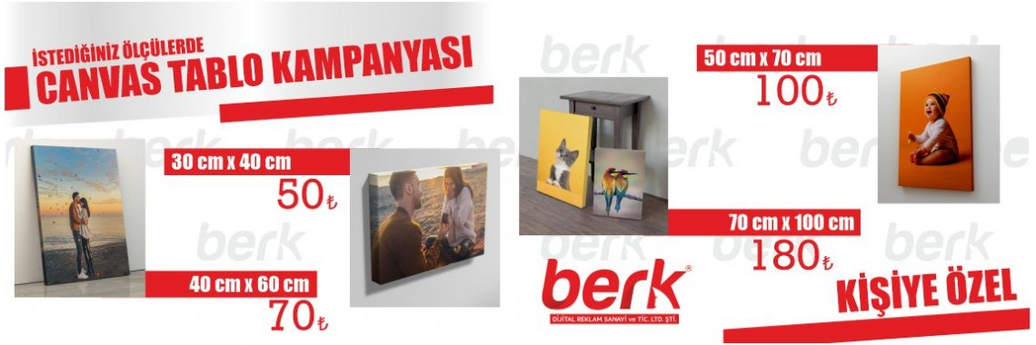 Canvas Tablo Kampanyası